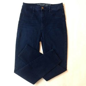 American Eagle Outfitters Dark Wash Sky Jeans Sz 8